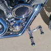 Polishing Forward Foot Controls For Harley Davidson Dyna