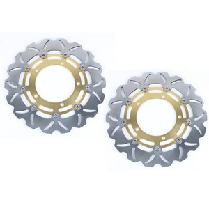 CNC Billet Aluminum Motorcycle Brake Discs