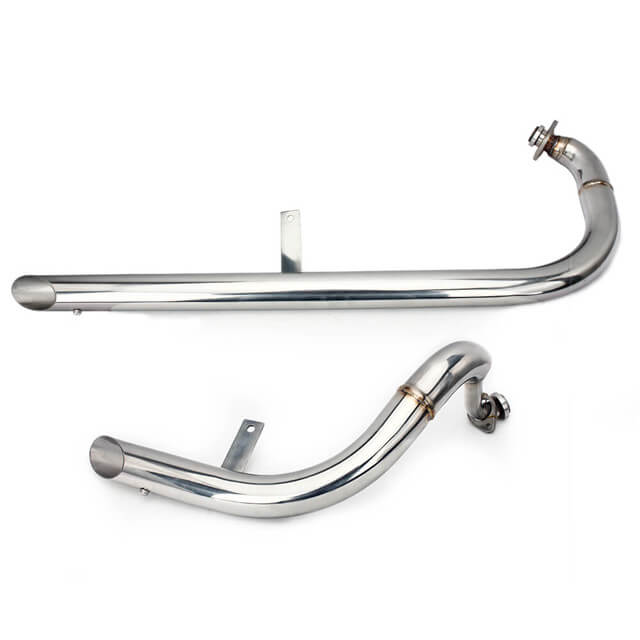 Custom Stainless Steel Motorcycle Exhaust Pipe For YAMAHA