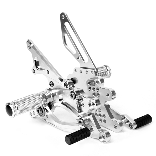 CNC Anodized Motorcycle Rearsets For Racing Bike