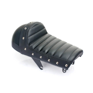 Retro Hump Styling Motorcycle Cafe Racer Leather Seat