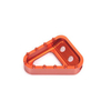 Billet Aluminum Motorcycle Rear Brake Pedal Step Plate
