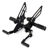 No Slip Fully Adjustable Rearsets Motorcycle