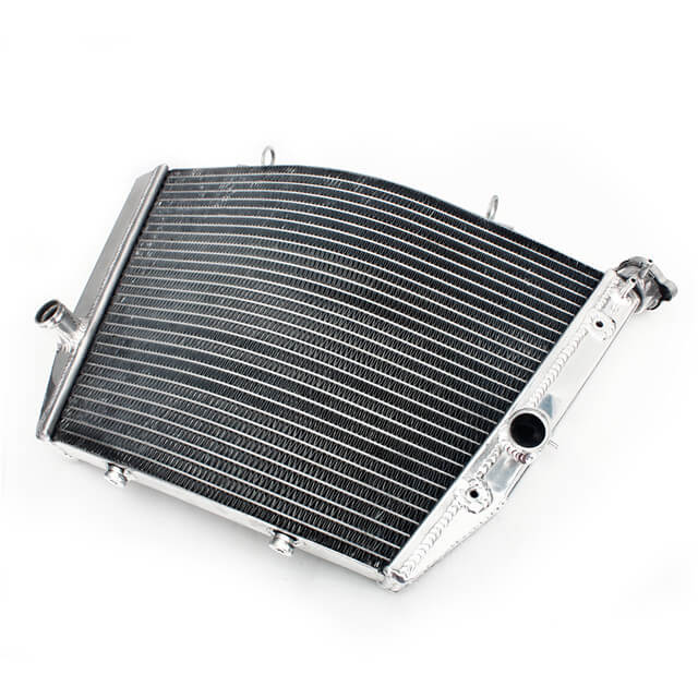 Custom Motorcycle Aluminum Water Cooling Radiators for Suzuki