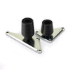 POM And Billet Aluminum Alloy Frame Crash Protectors For Motorcycle
