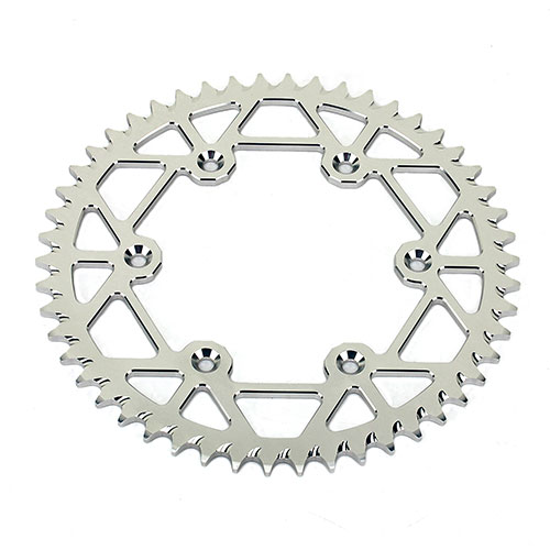 7075 aluminum alloy self cleaning motorcycle rear sprocket for KTM