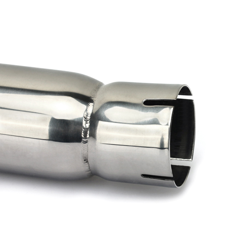 Best Quality Polished Stainless Exhaust Muffler Motorcycle