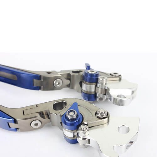Billet Aluminum Adjustable Brake Clutch Lever Motorcycle