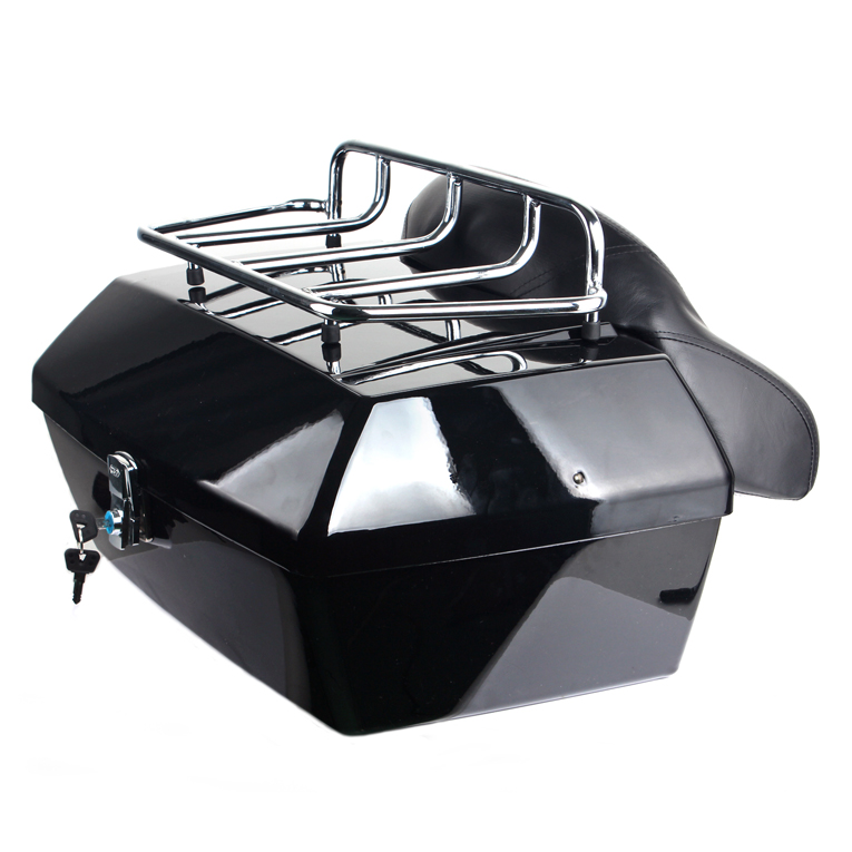 Motorcycle Trunk Tail Box Luggage Case For Harley Davidson