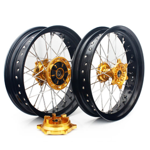 17 Inch Aluminum Motorcycle Spoke Wheels For SUZUKI DRZ400SM