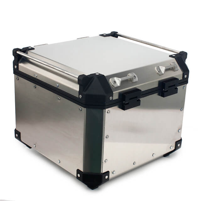 Custom ADV Aluminium Top Box Trunk Storage Box