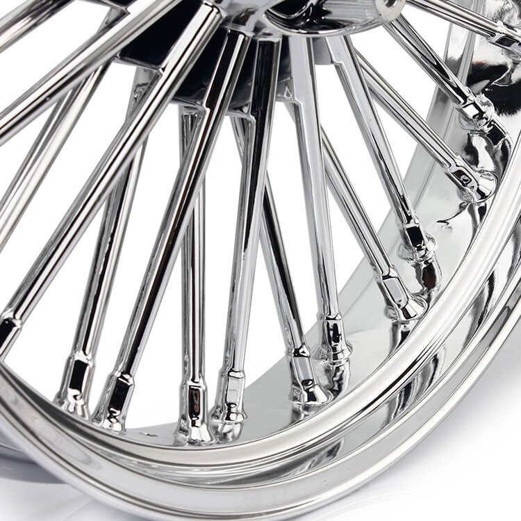 21 Inch Front Aluminum Plating Casting Harley Wheel