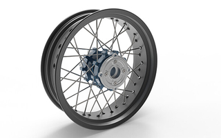 Custom 17 Inch Cafe Racer Wheels For CB750