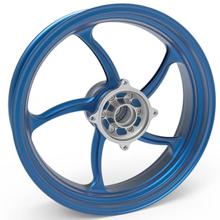 Custom Aluminum Motorcycle Forged Wheels